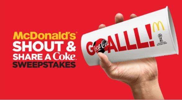Coke Shout and Share Sweepstakes