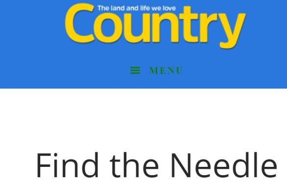 Country-Magazine.com Needle Contest