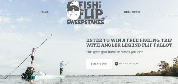 Fish With Flip Sweepstakes