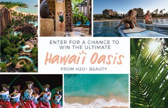H2O+ Beauty Oasis Sweepstakes