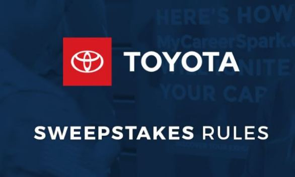 Hiring Our Heroes Toyota Sweepstakes