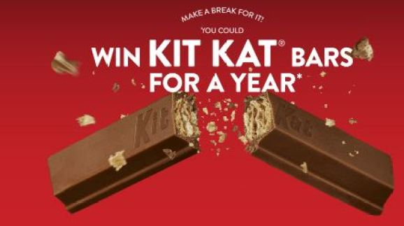 Kit Kat Break Time Summer Sweepstakes