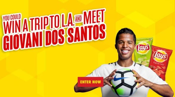 Lay's Soccer Sweepstakes