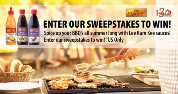 Lee Kum Kee Anniversary Sweepstakes