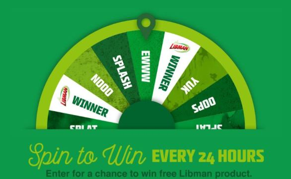 Libman Embrace Life's Messes Sweepstakes