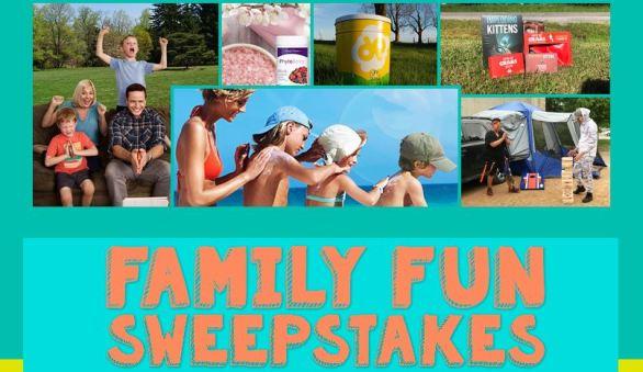 Napier Outdoors Family Fun Sweepstakes