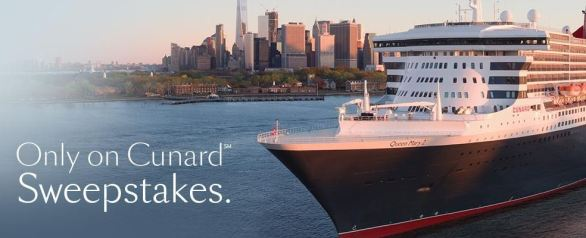 Only on Cunard Sweepstakes