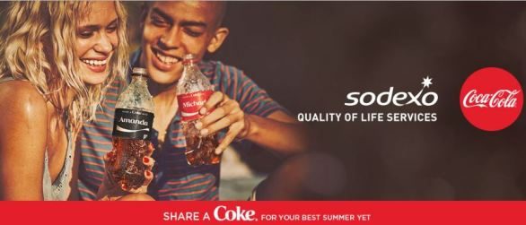 Sodexo Share a Coke Instant Win Game