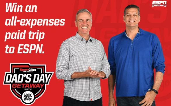 Sport Clips Dad's Day Sweepstakes