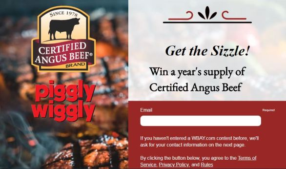 WBAY Get the Sizzle Contest