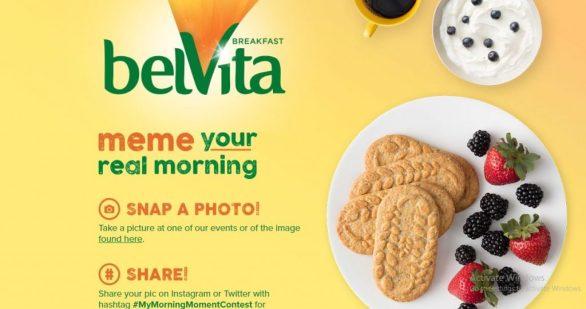 belVita My Morning Moment Contest