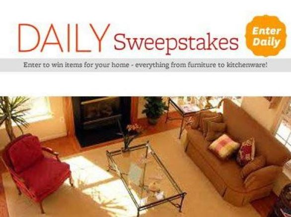 better homes and gardens daily sweepstakes - win today's prize