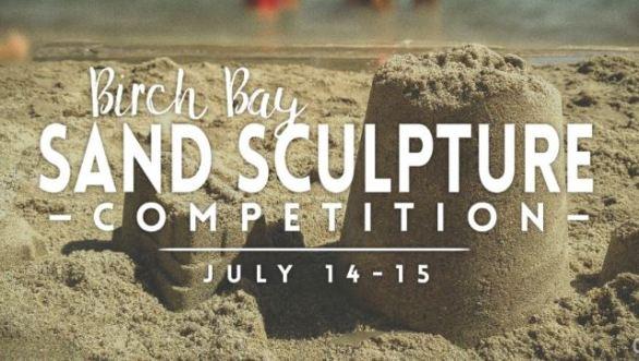 Birch Bay Sand Sculpture Contest