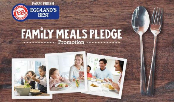 Eggland's Best Family Meals Pledge Sweepstakes