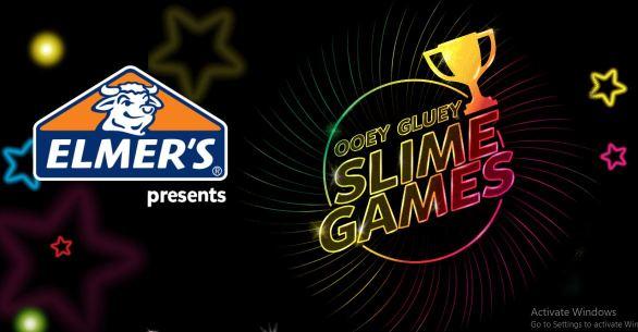 Elmer's Ooey Gluey Slime Games Contest
