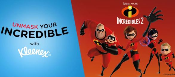 Kleenex Unmask Your Incredible Sweepstakes