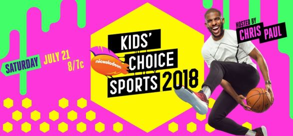 Nick Kids Choice Sports Vote