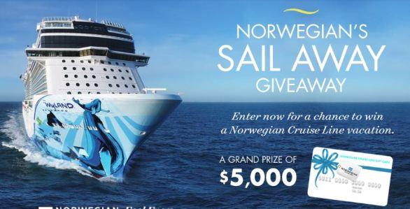 Norwegians Sail Away Giveaway