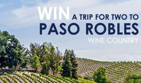 Paso Robles Wineries Vacation Giveaway