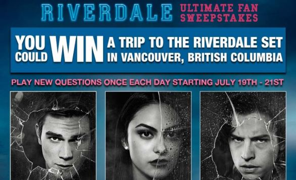 Riverdale Vancouver Set Visit Sweepstakes