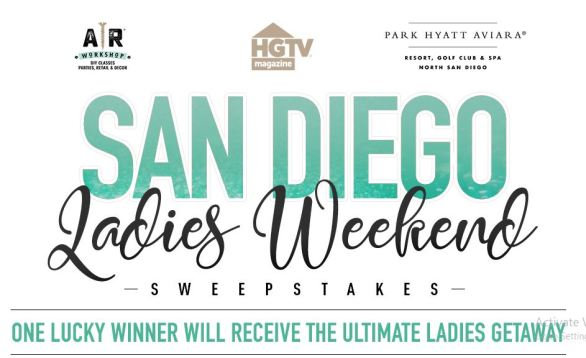 San Diego Ladies Weekend Sweepstakes