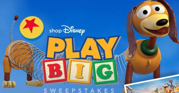 ShopDisney Play Big Sweepstakes