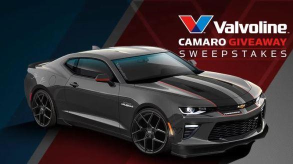 Valvoline Camaro Giveaway Sweepstakes