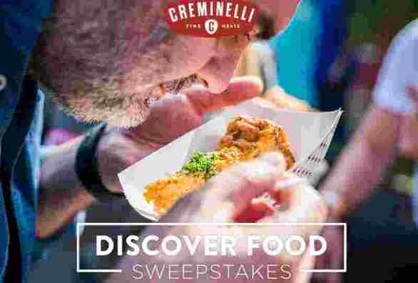 Creminelli Fine Meats Discover Food Sweepstakes