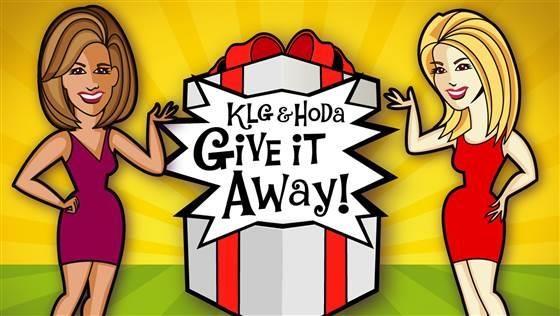 Klg and Hoda Give it away