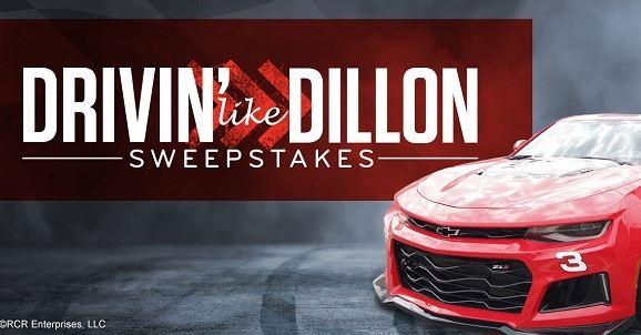 AAA Drivin like Dillon Sweepstakes