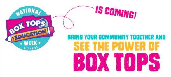 Boxtops4education.com National Box Tops Week Sweepstakes