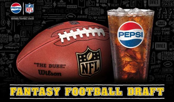 Buffalo Wild Wings Pepsi Fantasy Football Draft Sweepstakes