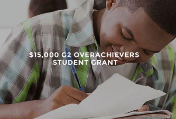 G2 Overachiever Student Grant Contest