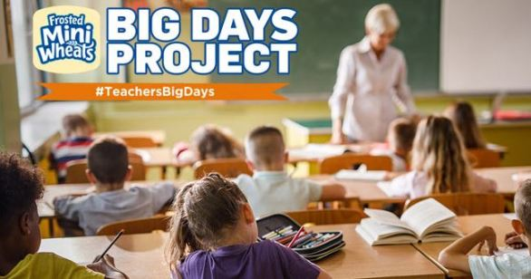 Kellogg's Frosted Mini Wheats Teachers Big Day Sweepstakes