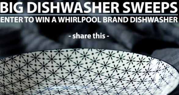 Kitchen Authority Big Whirlpool Dishwasher Sweepstakes