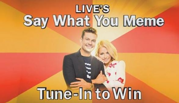 LIVE's Say What You Meme Tune In To Win Contest