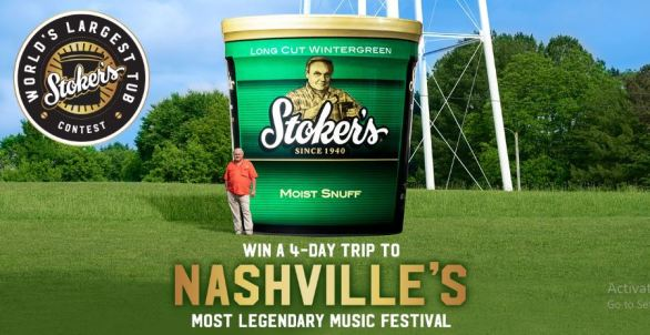 Stoker's World's Largest Tub Sweepstakes
