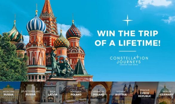 Tenplay Constellation Journeys Trip of a Lifetime Competition