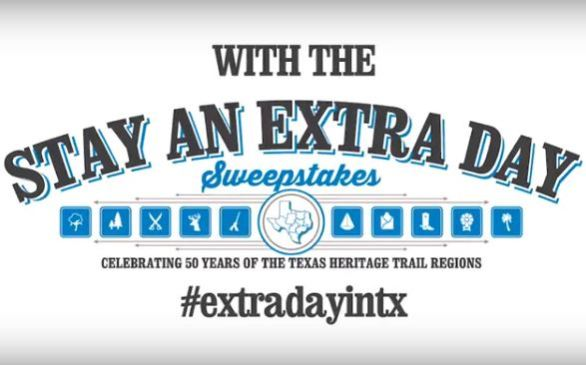 Texas Time Travel Stay an Extra Day Sweepstakes