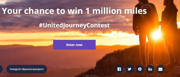 United Airlines United Journey Contest