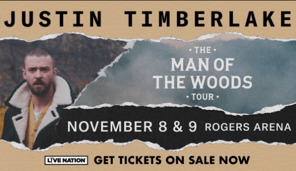 CTV Vancouver VIP seats to see Justin Timberlake Contest