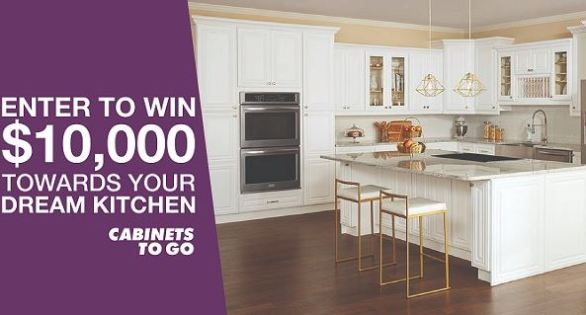 Cabinetstogo.com Fall Kitchen Makeover Sweepstakes - Win $10,000