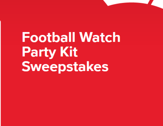 Coke Football Watch Party Kit Sweepstakes