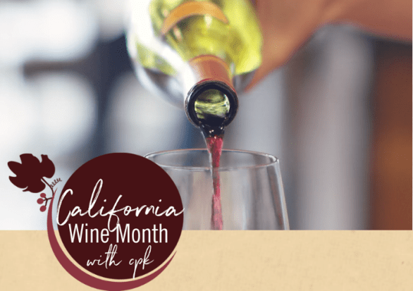 Cpk California Wine Month Sweepstakes