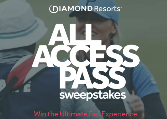 Diamond Resorts All Access Pass Sweepstakes