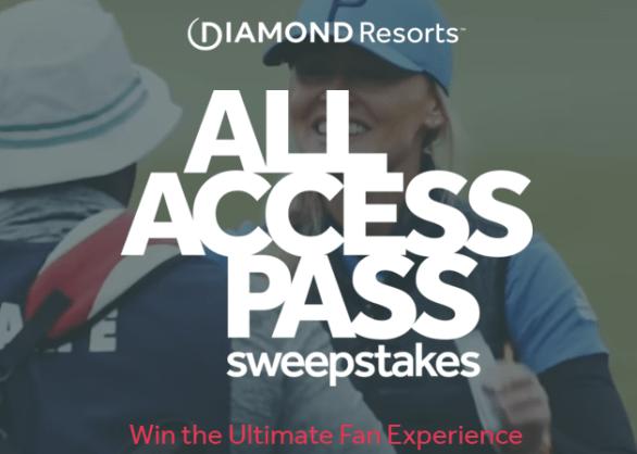 Diamond Resorts All Access Pass Sweepstakes