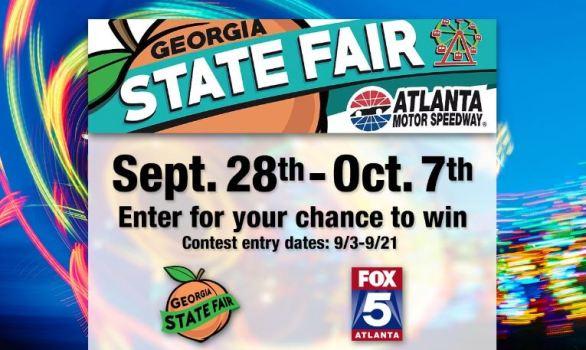 FOX 5 Atlanta GA State Fair Tickets Contest