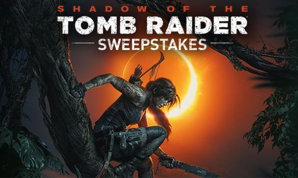 GameStop PowerUp Rewards Shadow of the Tomb Raider Sweepstakes