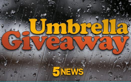 KFSM 5NEWS Umbrella Giveaway Contest