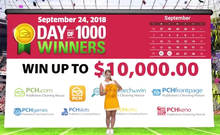 PCH Day of 1000 Winners Sweepstakes